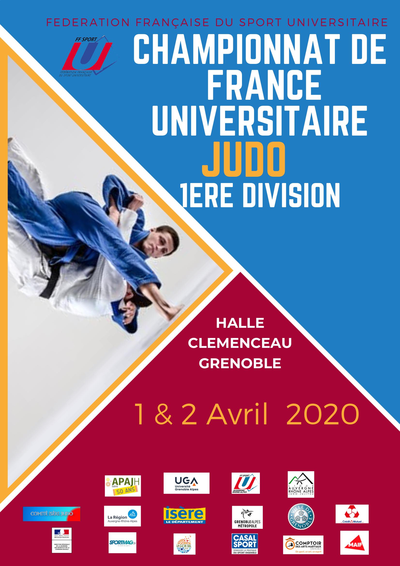 Championnat de France Judo 1ère Division