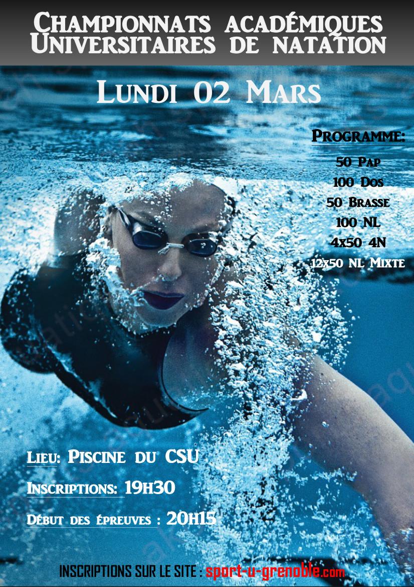 Championnat Académique de natation